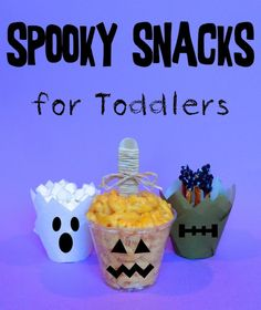Halloween Snacks for Toddlers