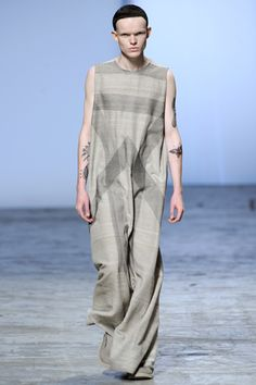 Rick Owens Spring 2012 Menswear  What the...?
