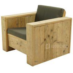 Steigerhouten meubels op maat gemaakt kopen   Woodiez Magazine Rack, Armchair, Relax, Fancy, Cabinet, Storage, Furniture, Home Decor, Creative