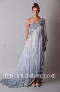 Blake Lively Embrodery Prom Gown Formal Evening Dresses BAFTA Red Carpet Dress - TheCelebrityDresses