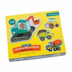 Puzzle sensoryczne Mudpuppy - na budowie - MamaGama: SPRAWDZONE i przydatne akcesoria dla mam i dzieci.