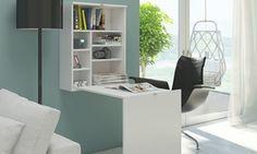 Functioneel inklapbaar bureau