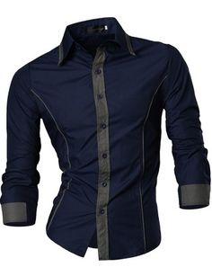 Camisa Fashion con Detalles en Contraste - Estilo Casual - en 5 Colores