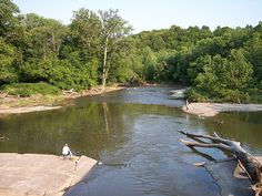 Rocky River - Cleveland, OH. Went horseback riding here sometimes.