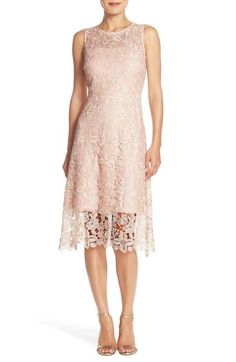 Julia Jordan Floral Lace A-Line Dress available at #Nordstrom