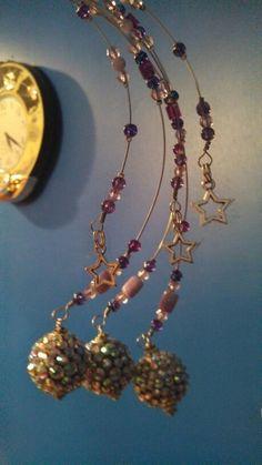 Falling Stars Christmas Tree Accents   https://www.facebook.com/daisiesdiamonds
