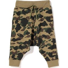 BAPE Shorts ❤ liked on Polyvore