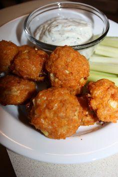 Buffalo Chicken Meatballs - Brenda's Healthy Dinner Recipes