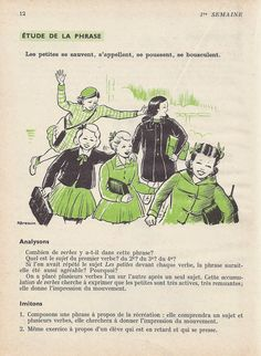 Manuels anciens: 1. La rentrée French Learning Books, Learn French, Memes, Vocabulary, Learn To Speak French, Meme, Learning French