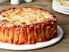 Dive right into these comforting pasta bakes from your favorite Food Network chefs.