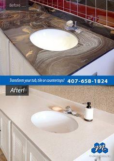 Superieur Countertop Refinishing Works Equally Well On Kitchen Countertops, Bathroom  Vanities, Laminate Breakfast Bars, And Even Cultured Marble Sink Vanities.