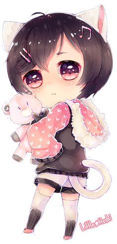 Commission: Sweet plush~ by hoshiineko on DeviantArt