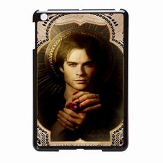 Vampire Diaries Damon Salvatore Art iPad Mini Case