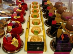 Fauchon! I buy their chocolate and pastries everytime I visit Paris....
