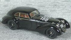 Alfa Romeo 6c 2300 B Berlinetta Touring - 6th Mille Miglia 1938 #138 - Alfa Model 43