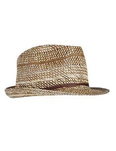 sombrero rafia bicolor cordón