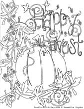 Fall Coloring Pages, free and easy to print from Doodle Art Alley Fall Coloring Sheets, Pumpkin Coloring Pages, Thanksgiving Coloring Pages, Fall Coloring Pages, Halloween Coloring Pages, Doodle Coloring, Coloring Pages For Kids, Coloring Books, Thanksgiving Ideas