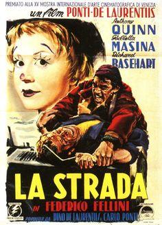 La strada, film di Federico Fellini - 1954 con Anthony Quinn, Giulietta Masina e Richard Basehart