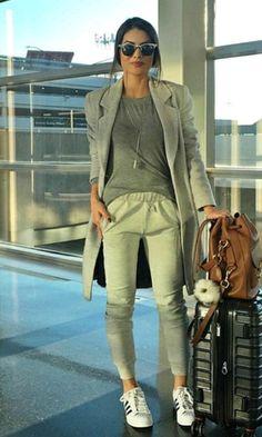 Sport in gray - um look confortável para sair por aí