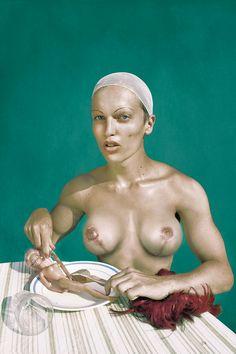 What I Eat - Marwane Pallas - A BOY FROM VENUS 2013, edition of 7 Diasecs