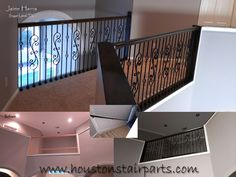 Stair Remodel Houston Stair Parts | Stair Iron Balusters Install | Stair  Design In Houston San
