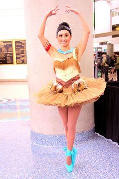 Ballerina Pocahontas photo by RYC-Behind the Lens