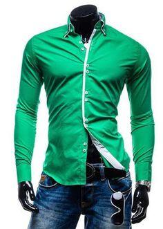 New Men's Sexy Dress Shirt - 7 Colors! xxl 100