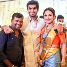 These Inside Pictures From Soundarya Rajinikanth's Pre-Wedding Ceremonies Will Leave You With Some Serious Wedding Goals - HungryBoo Tulsi Silks, Engagement Saree, Wedding Ceremony Pictures, Black And White Suit, Wedding Stills, Marriage Dress, Wedding Couple Poses Photography, Saree Look, Wedding Goals