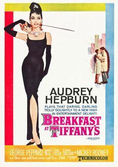 Breakfast at Tiffany's Poster: Vintage Hollywood Cinema Print