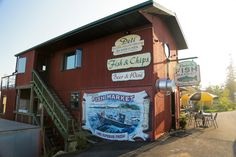 Have to stop at Dockside Fish Market in Grand Marais, MN, for some fresh Lake Superior Fish!