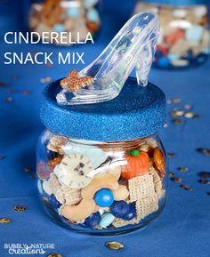 Cinderella Favor Snack Mix