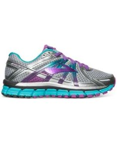 5594c9965ce Brooks Women s Adrenaline 17 Running Sneakers from Finish Line - Gray 8.5