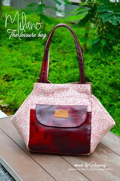 'Milano'- The Leisure Handbag | Craftsy