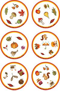 Jesenné dobble na spríjemnenie jesenných dní - Nasedeticky.sk Games For Kids, Art For Kids, Activities For Kids, Crafts For Kids, Seasons Activities, Autumn Activities, Kindergarten, School Ot, Esl Lessons