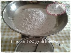 Pasta di borotalco per fare i gessetti: la ricetta [e cestino di fiori] tutorial