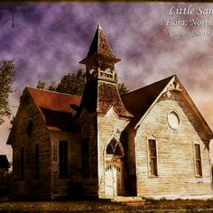 Beautiful old church in North Dakota
