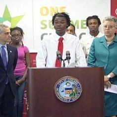 Connecting Youth to a Successful Future with a Summer Job in Chicago. Mayor Rahm Emanuel