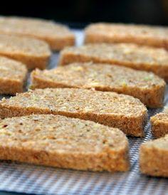 nyers lenmag kenyér