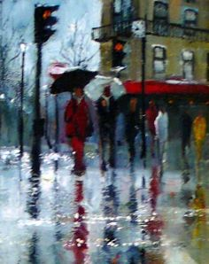 Gallery :: Peter Fennell - OIL :: 28 Rain, Clouds, Gallery, Awesome, Painting, Rain Fall, Roof Rack, Painting Art, Paintings