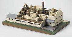 макет напечатан на 3D принтере