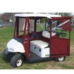 Ezgo rxv doorworks enclosures doorworks golf cart covers for Golf cart garage door prices