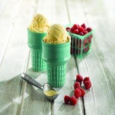 Super Simple Homemade Vanilla Ice Cream
