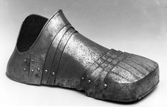 Toe Cap and Lames for a Right Foot Defense (Sabaton) | German | The Met