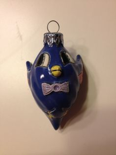 This Blue Bird one-of-kind handcrafted sculpture is by Cuteware