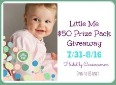 New Age Mama: Little Me $50 Prize Pack #Giveaway