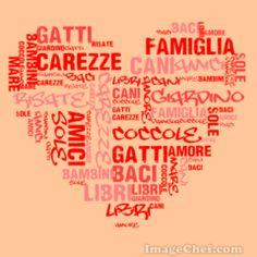 Mosaico di Parole: le cose che amo