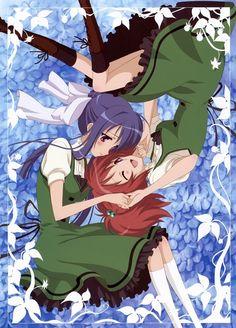 Strawberry Panic!: Tamao and Nagisa