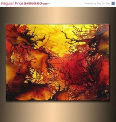 Original Abstract paintingContemporary Modern by newwaveartgallery, $2400.00