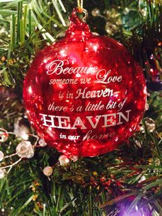 Because Someone We Love is in Heaven..... by LuluDesignsTX on Etsy, $10.95