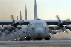 My dad designed the enhanced cargo handling system for the C-130Js !! So proud of my dad!  :)
